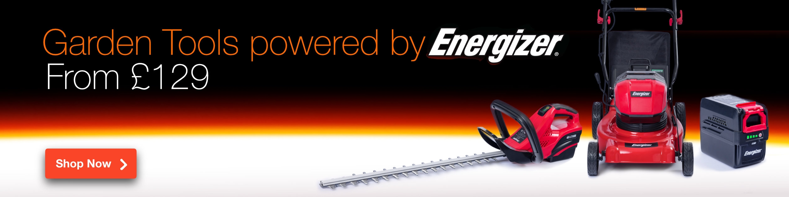 Garden Tools Powered by Energizer