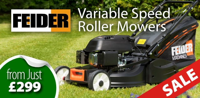Feider Variable Speed Roller Mowers
