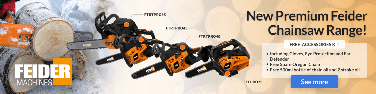 Check out our new high-end chainsaws range!