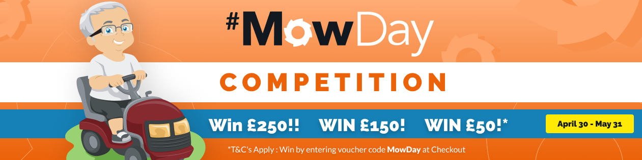 MowDay Competition - Save Upto £250
