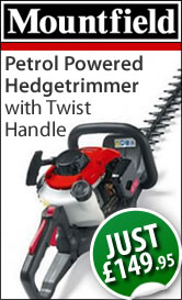 Petrol Hedgetrimmer with Twist Handle: Just £139.95