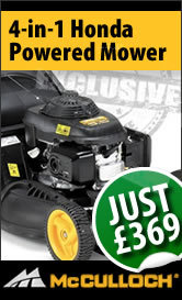 Exclusive 4-in-1 Honda-Powered Mower Just £369!