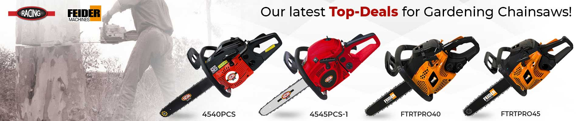 Range of Chainsaws for this Autumn