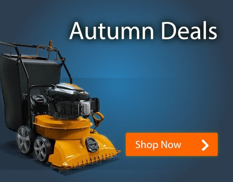 Autumn Deals - Vacs, Chippers, Splitters & more!